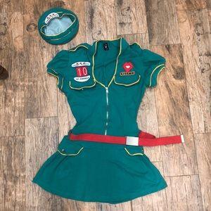 Sweet Camp Girl costume